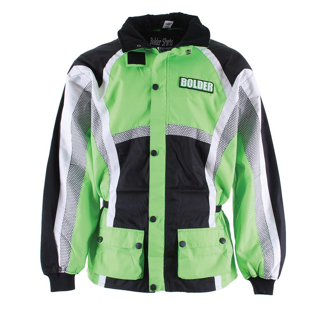 Bunda Motocross Junior zelená - Velikost: XS