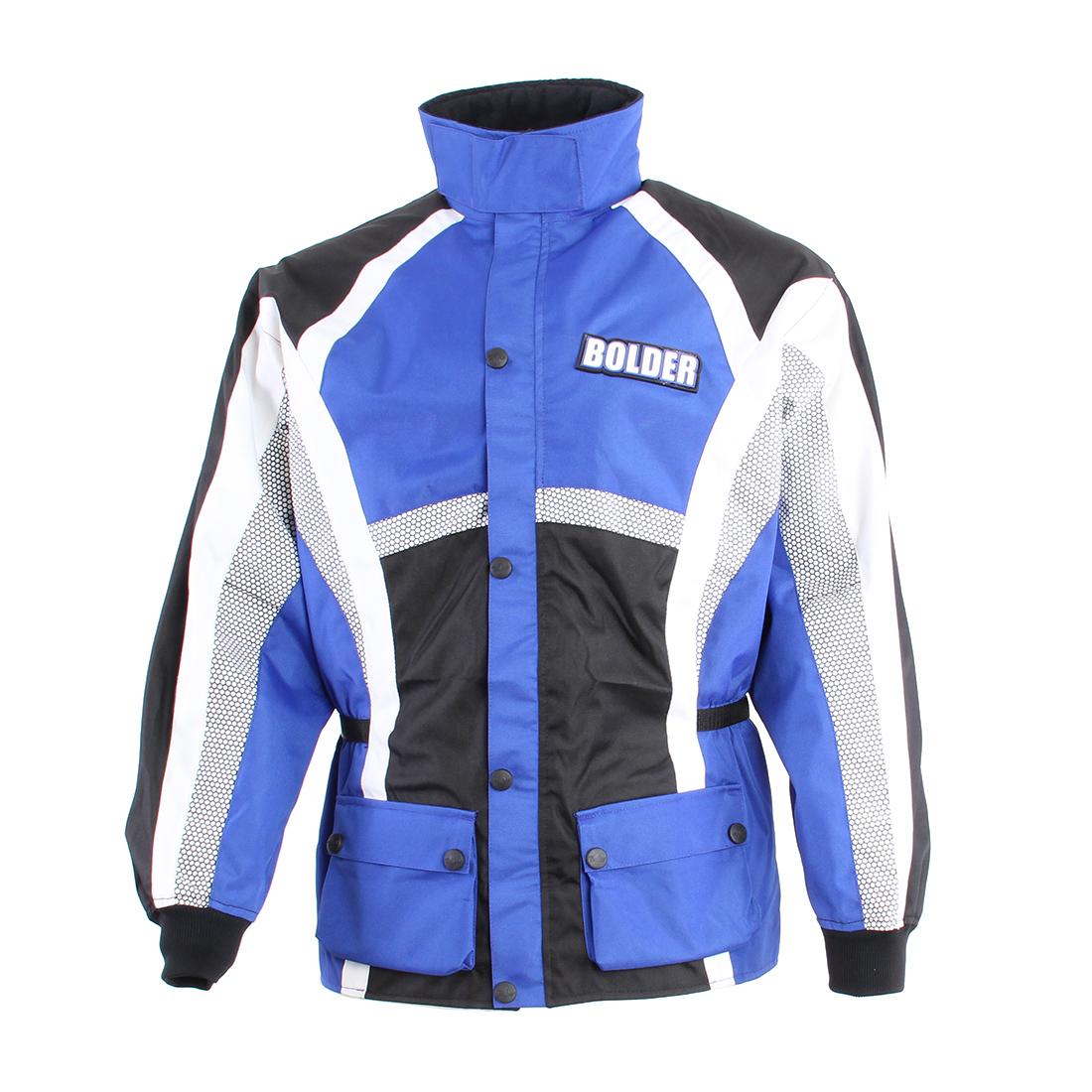Bunda Motocross modrá - Velikost: 3XL