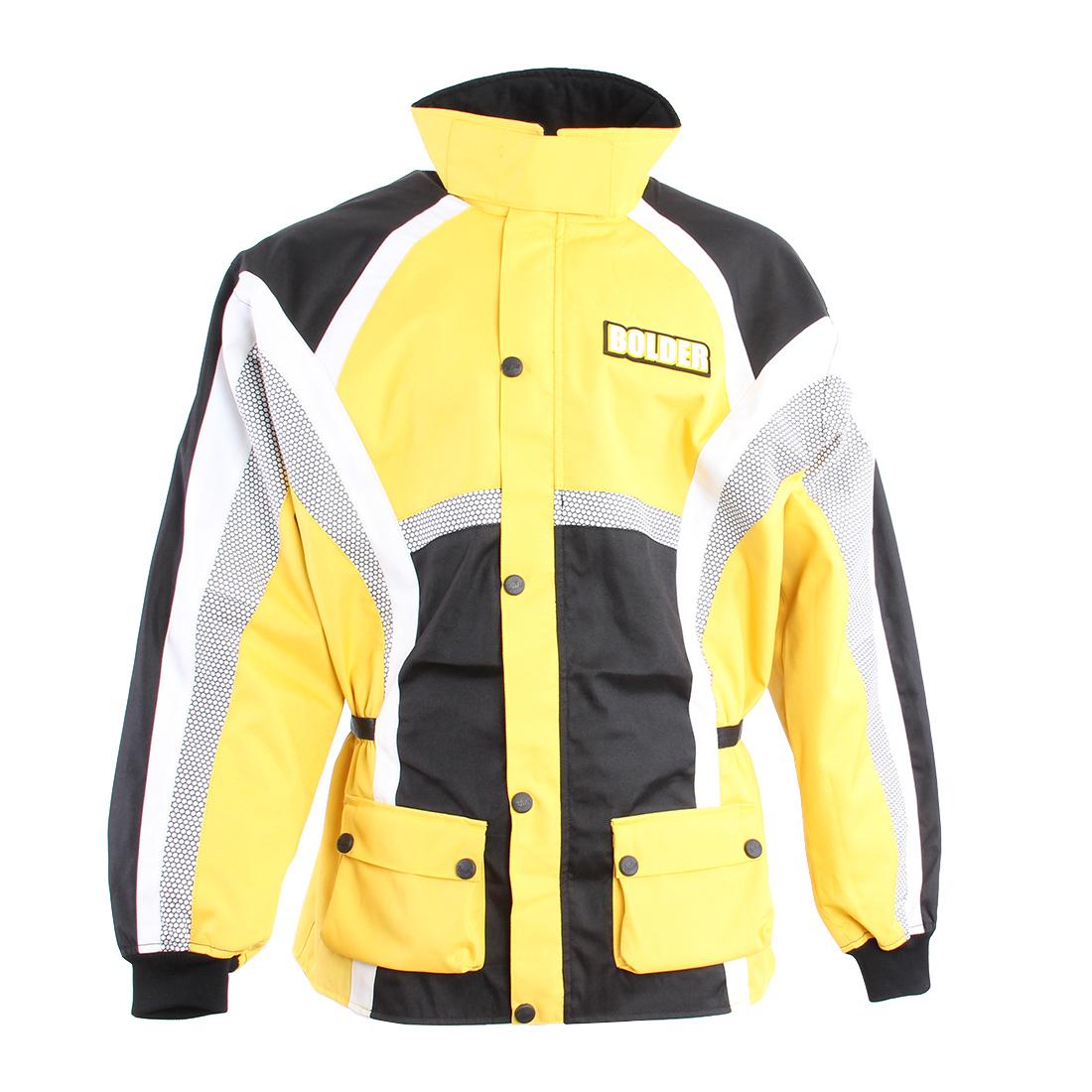 Bunda Motocross žlutá - Velikost: 3XL