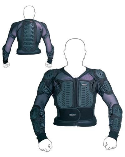 Protektor/železná košile chránič Junior - Velikost: XS