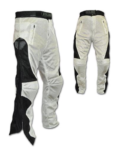 Kalhoty na moto se síťovinou - Velikost: 2XL