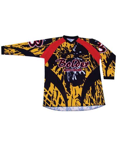Triko Motocross - Velikost: M