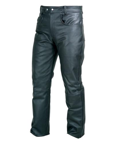 Kalhoty kožené Chopper - Velikost: 58