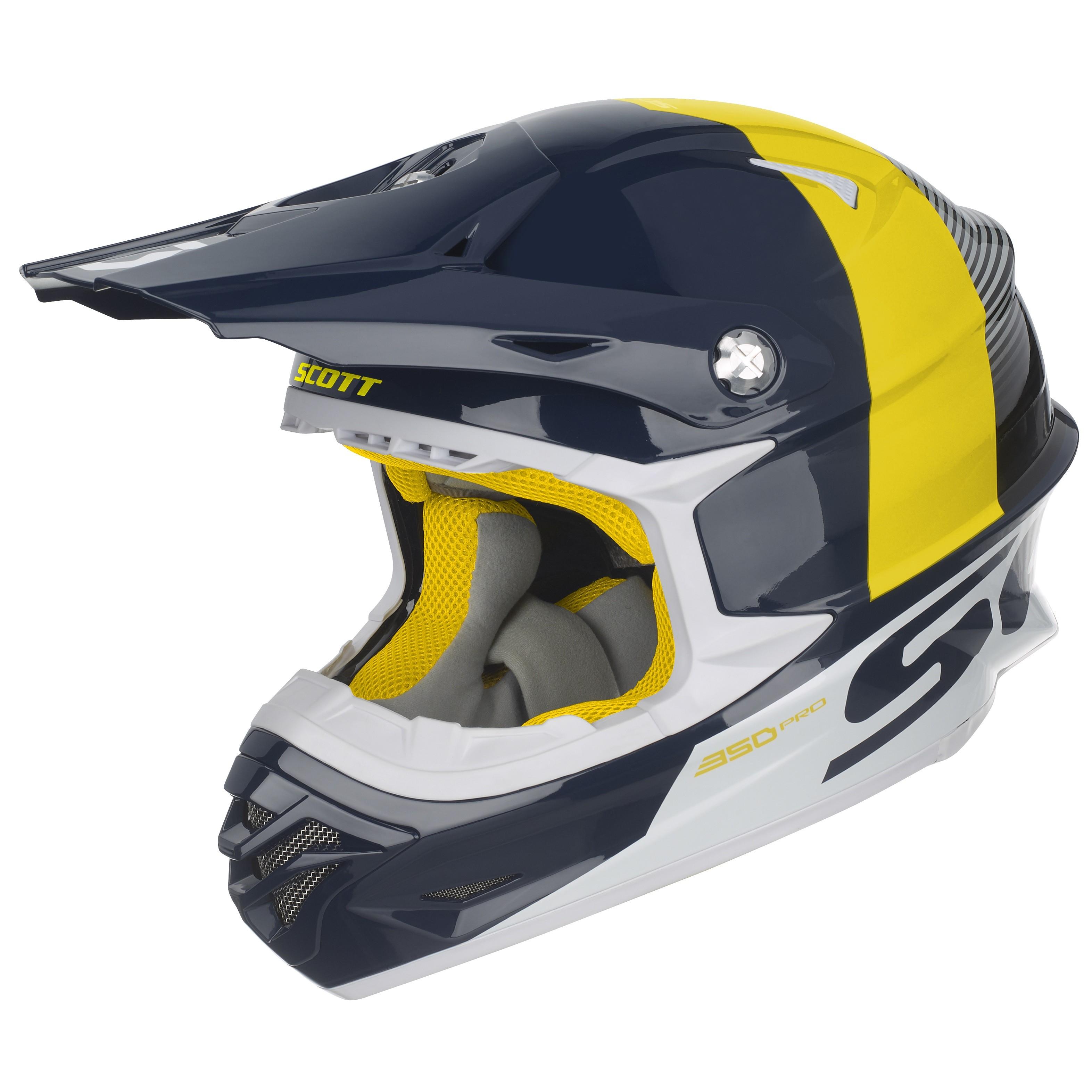 SCOTT 350 PRO TRACK Motocrossová přilba - Bolder - Moto oblečení 5c6acfffe1