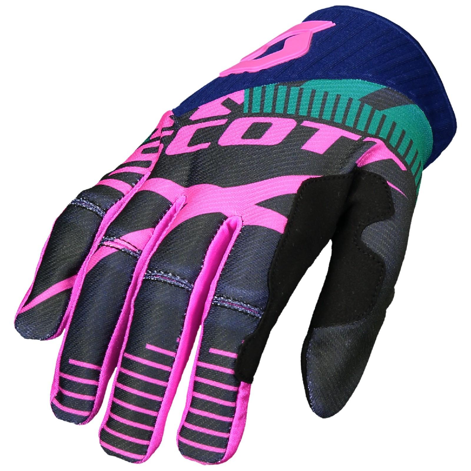 56399aab588 SCOTT 450 PATCHWORK Motocrossové rukavice - Bolder - Moto oblečení