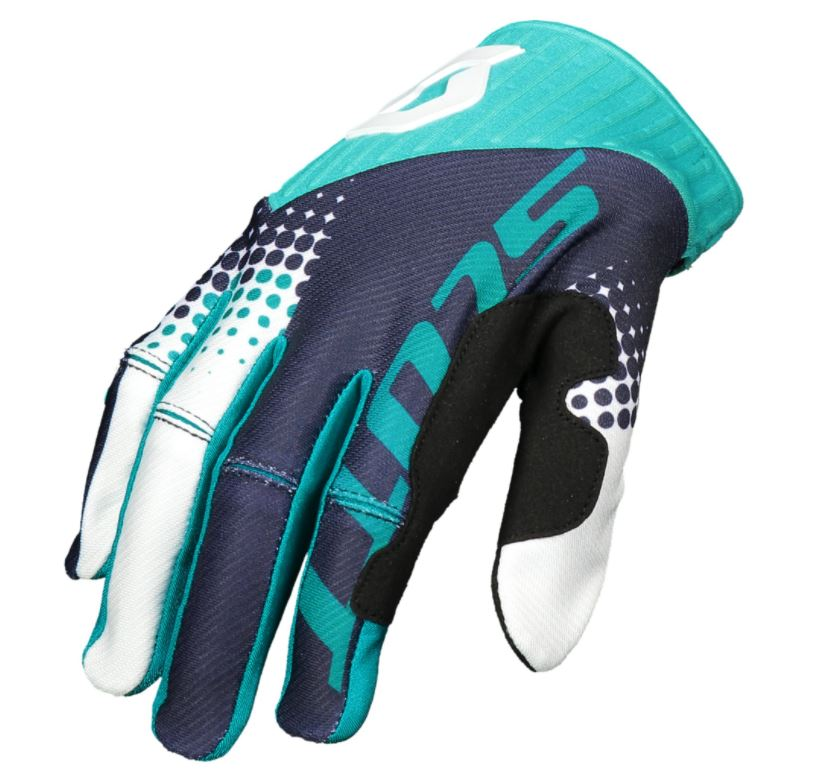57449a0409f SCOTT 450 ANGLED Motocrossové rukavice - Bolder - Moto oblečení