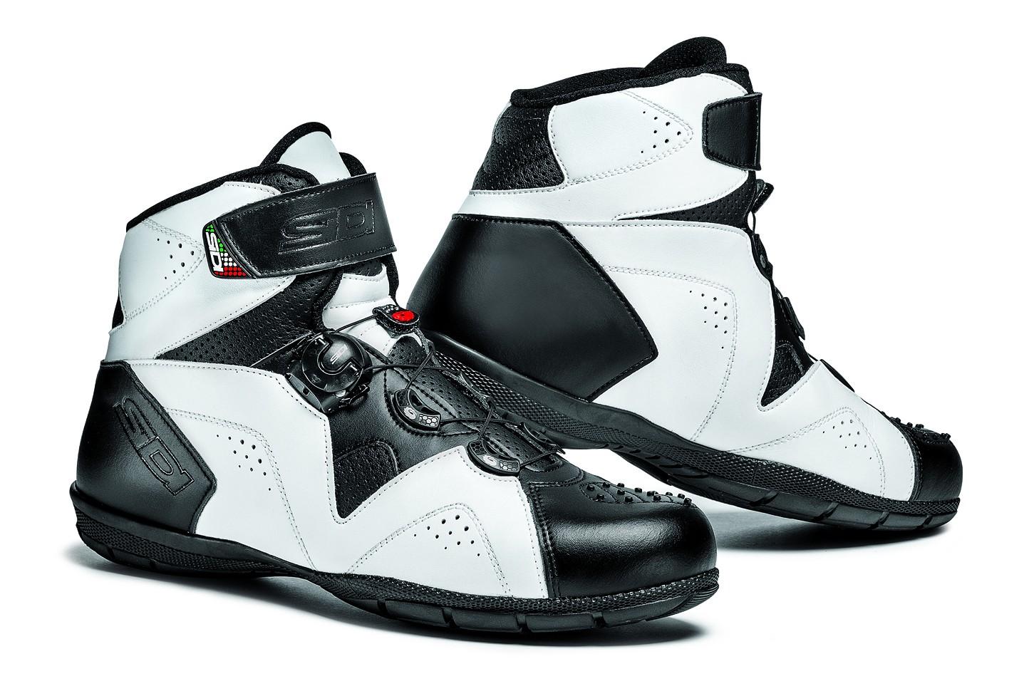SIDI ASTRO Enduro moto boty černá bílá - Bolder - Moto oblečení c63c6a78a8