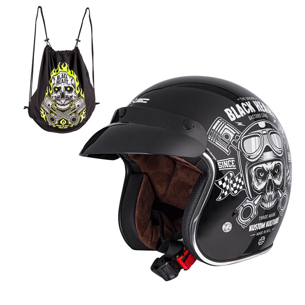 2c200ae99 W-TEC V541 Black Heart moto přilba - Bolder - Moto oblečení