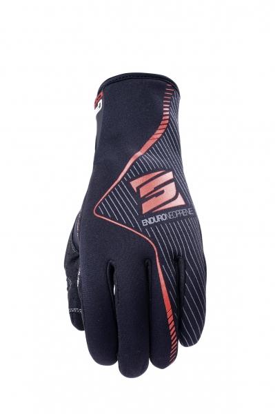 b50703b8454 FIVE Enduro Neoprene Moto rukavice černé - Bolder - Moto oblečení