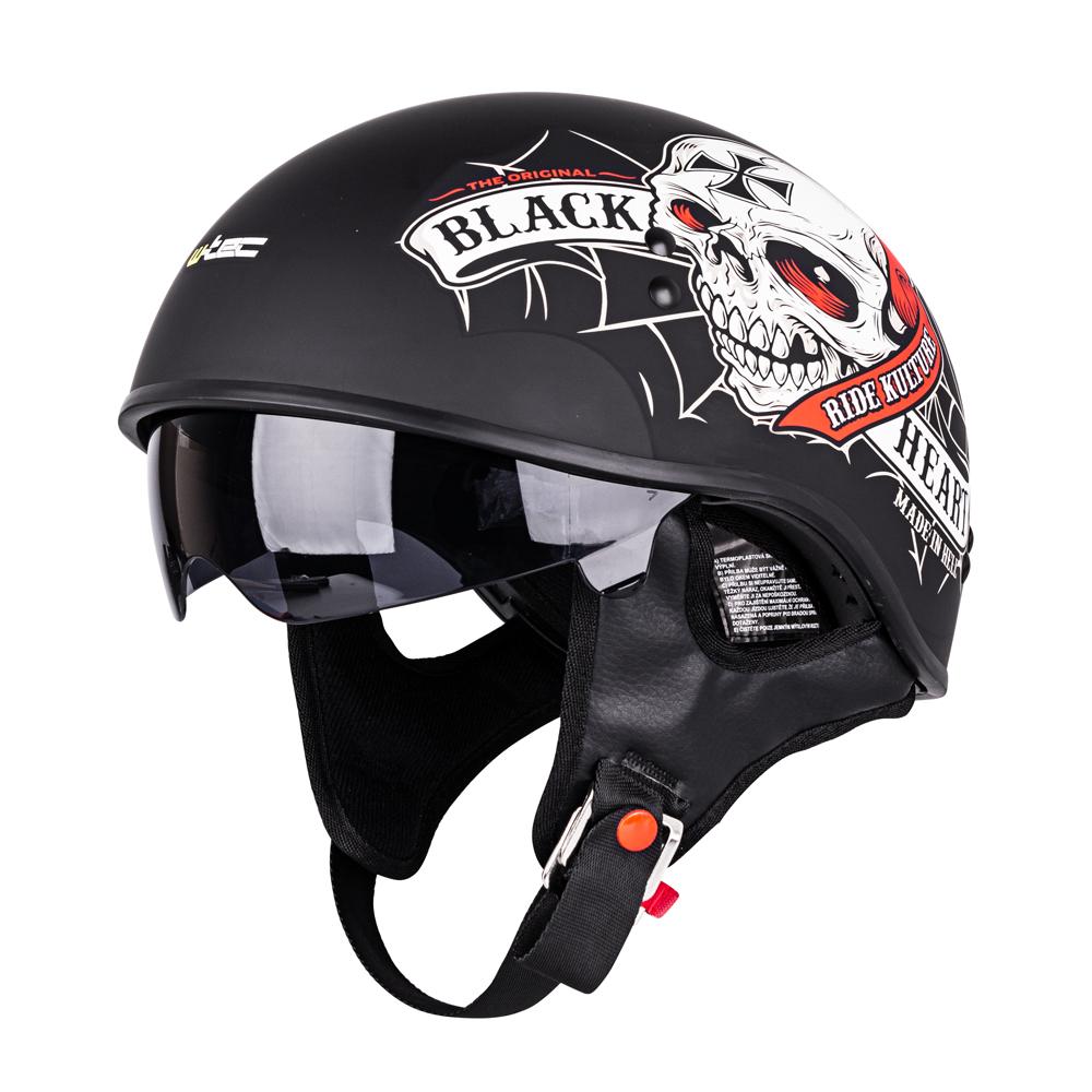 724efd359 W-TEC V535 Black Heart Moto přilba černá - Bolder - Moto oblečení