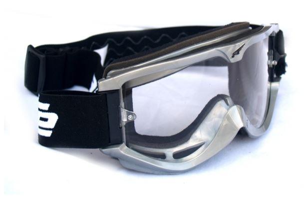 Brýle stříbrné - Velikost: uni